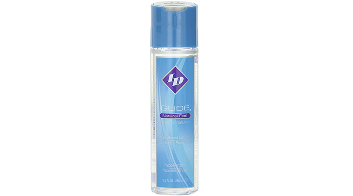 id glide natural feel water based lube