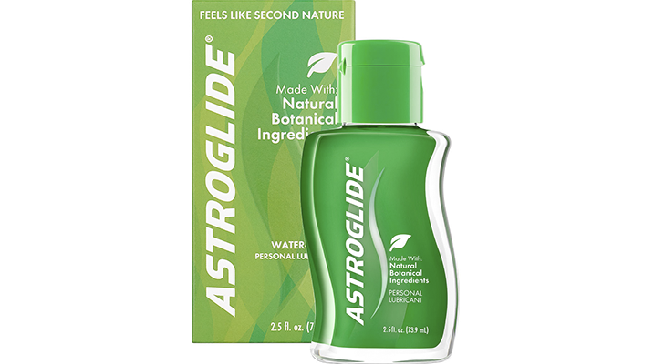 astroglide natural liquid water-based personal lubricant