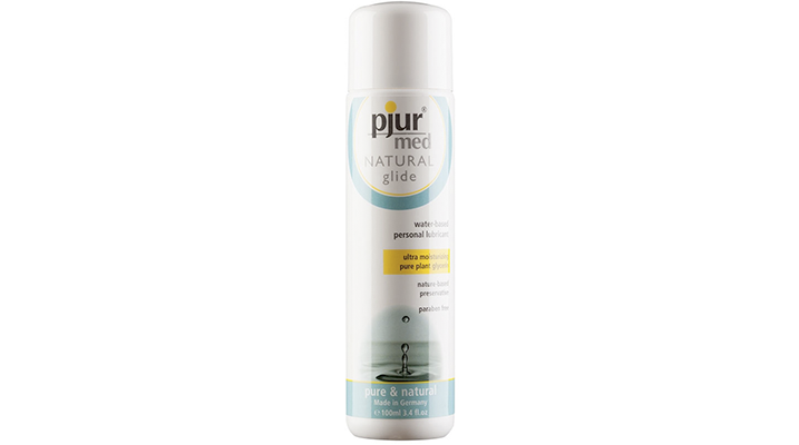 pjur med natural glide water based lubricant