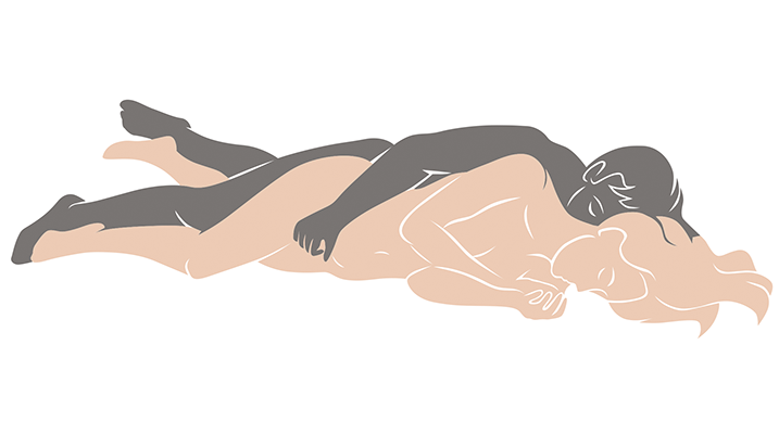 spooning sex position