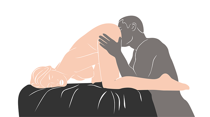 doggy style oral sex position