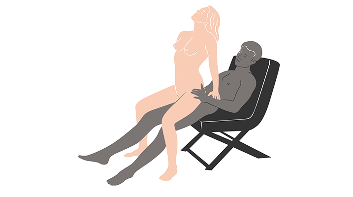 hot seat sex position